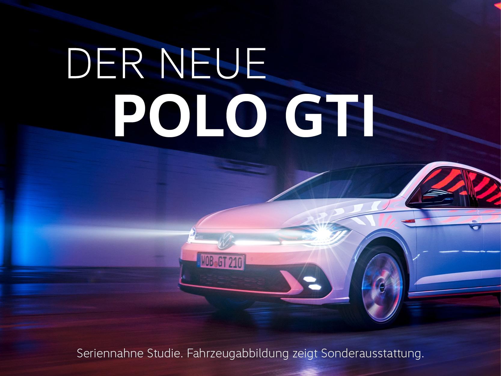 Der neue Polo GTI.
